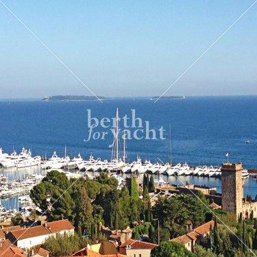 Emplacement pour Yacht à Vendre Port La Napoule-Mandelieu-Côte-d'Azur