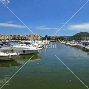 Emplacement pour Yacht à Vendre port Cannes Marina Mandelieu Côte d'Azur