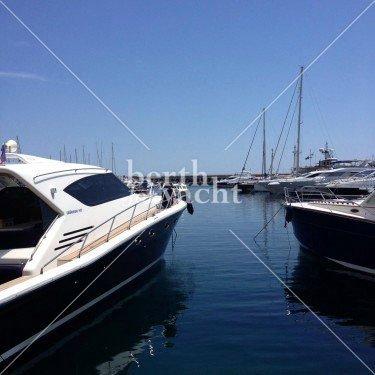 Emplacement pour yacht à vendre au port de Cap d'Ail-Côte d'Azur