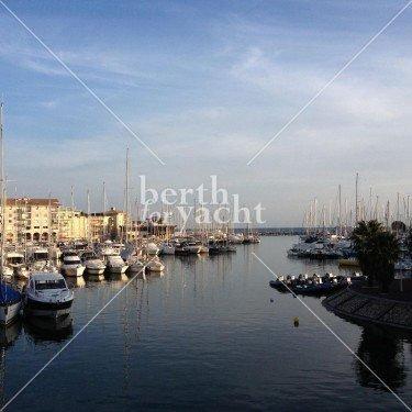 Emplacement pour Yacht à céder port Fréjus