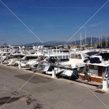 Emplacement pour yachts à céder saint-laurent-du-Var
